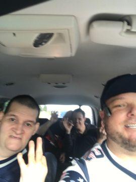 Patriots Day Selfie
